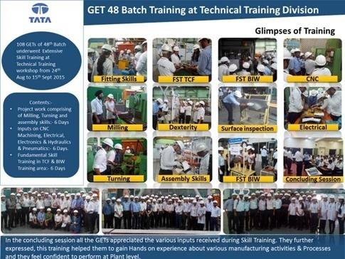 What is content of GET Training at TATA Motors pune? - Quora