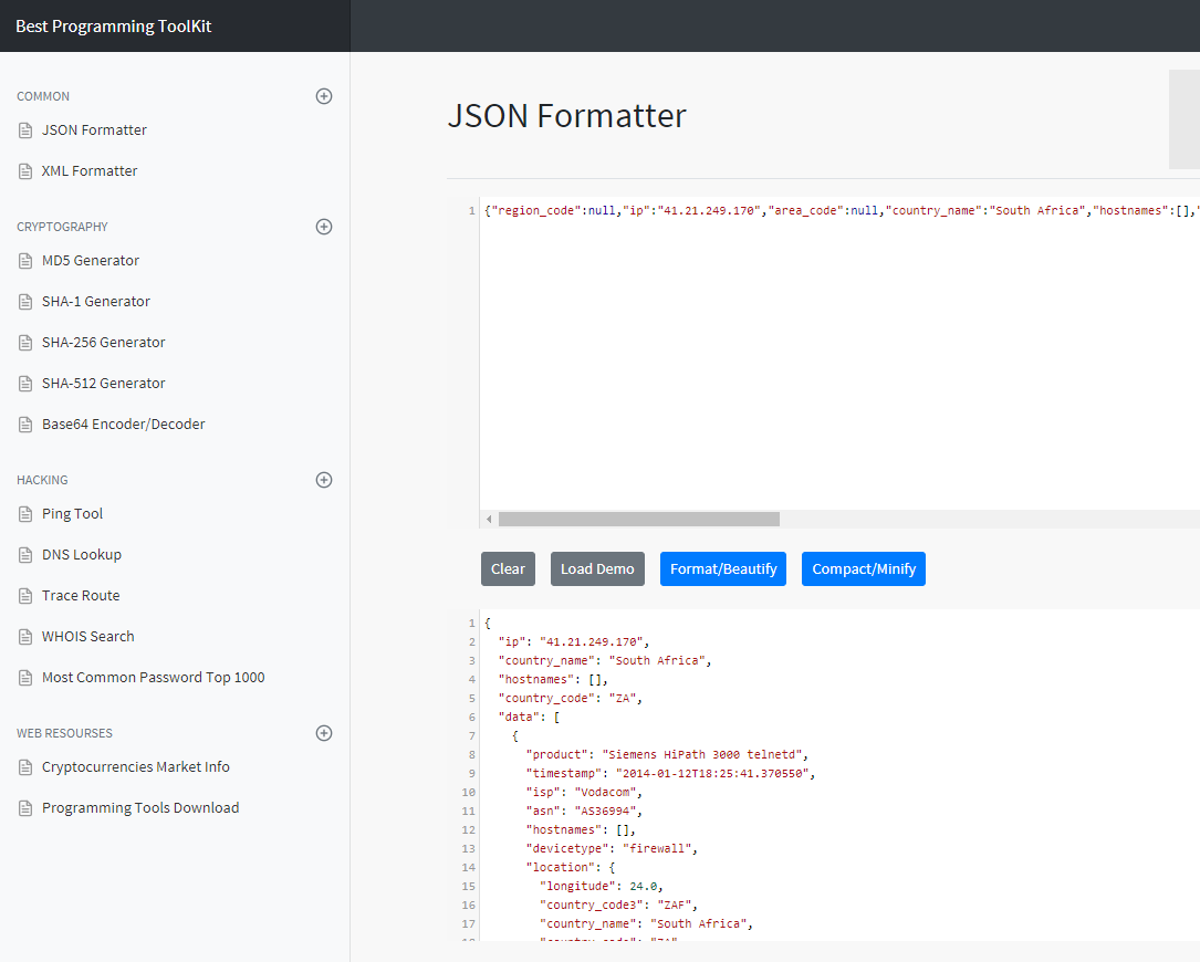 How to pretty-print JSON - Quora