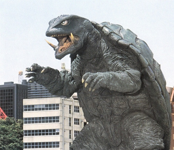 What was the name of the turtle monster in Godzilla? - Quora