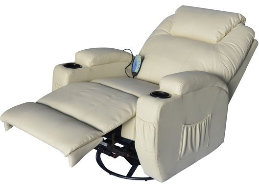 Overall This Black Pu Leather Reclining Vibrating And Comfortable Chair Gives You The Relief Required After A Hectic Schedule