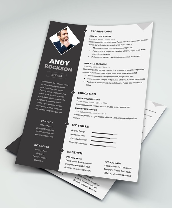 what are the best free cv resume templates for a software engineer