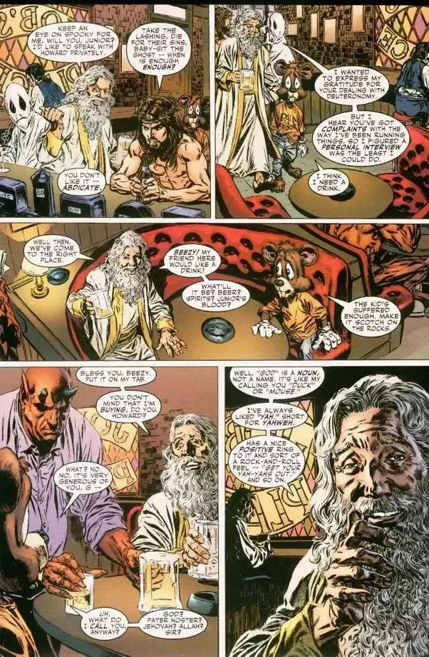 marvel comics yahweh