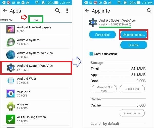 android system webview apk