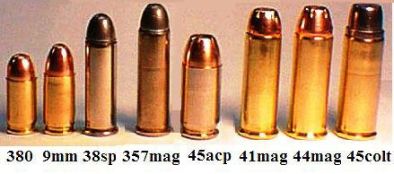 What is the difference between a 45 Colt and a 357 Magnum