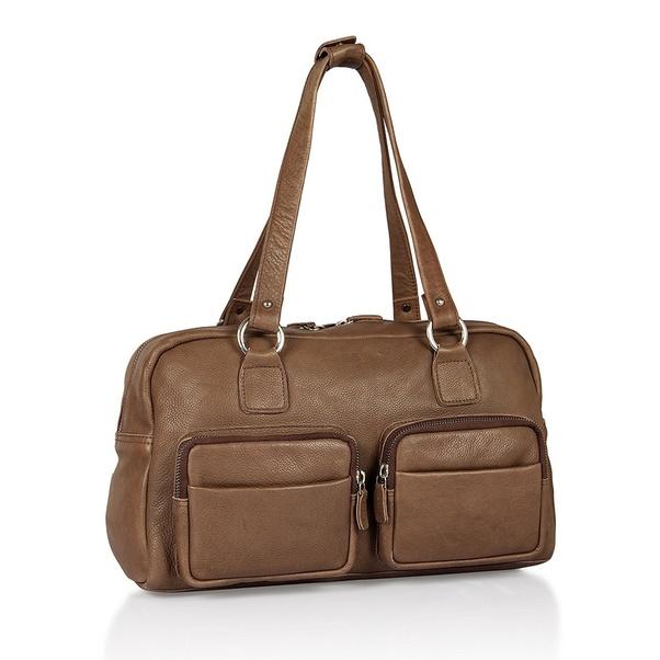 Las Mid Brown Handbag