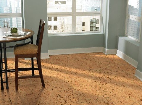 Like Bamboo Cork Flooring Is Popular For Its Green Credentials But Also Because It Warm And Quiet Under Foot Thanks To Softer Nature Compared