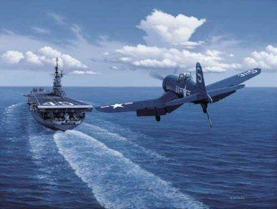 How Did Planes Land On Ww2 Aircraft Carriers If Planes