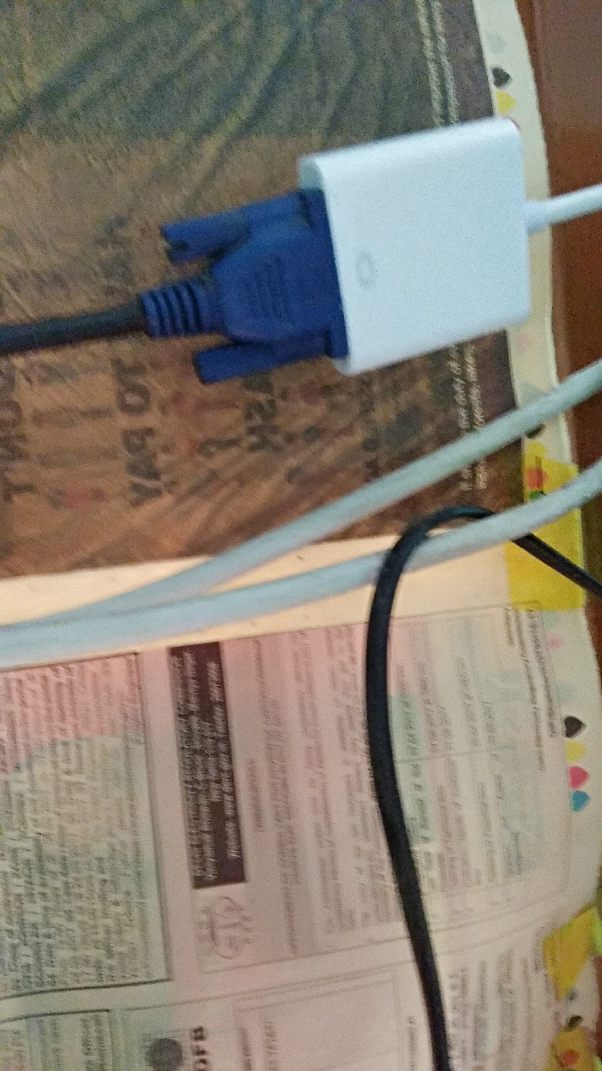 How To Use Monitor As Tv Quora Internet Jack Wiring Plug In Vga End Of Your The Analog Set Up Box Just Like This One