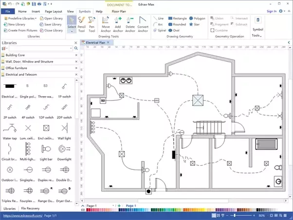 It Helps People With Or No Drawing Skills Create Professional Plans Within  Minutes By Providing Various Built In Floor Plan Symbols And Templates.