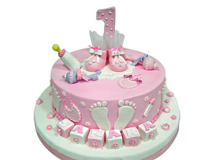 Order A Cake Online Sellers Nowadays Have Dedicated Section For 1st Birthday Cakes Just Browse Through The Find That Suits