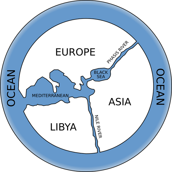 When was the first world map drawn and how accurate is it compared 1 anaximander who drew the earliest know abstract map of the earth centered around the roman empire gumiabroncs Gallery