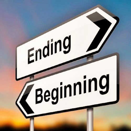 What does the quote 'every new beginning comes from other ...