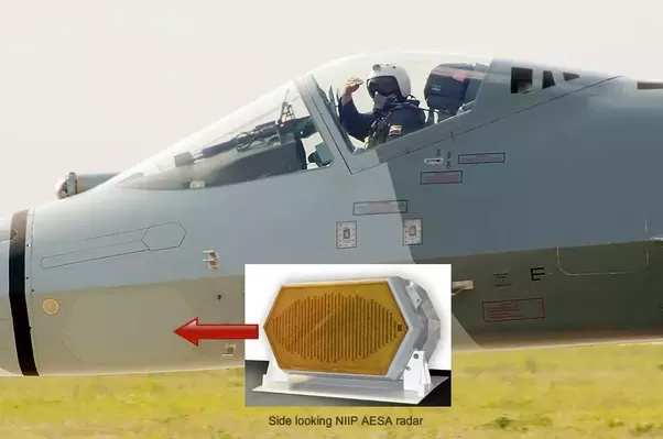 How good is the 1st gen AESA radar on the SU-57? Is it fused with other  smaller X and L band radars and sensors on the aircraft like the F-35? -  Quora