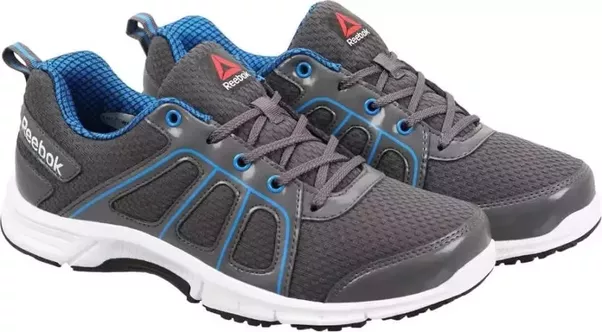 #9 Reebok FAST N QUICK Running Shoes (Black, Grey)