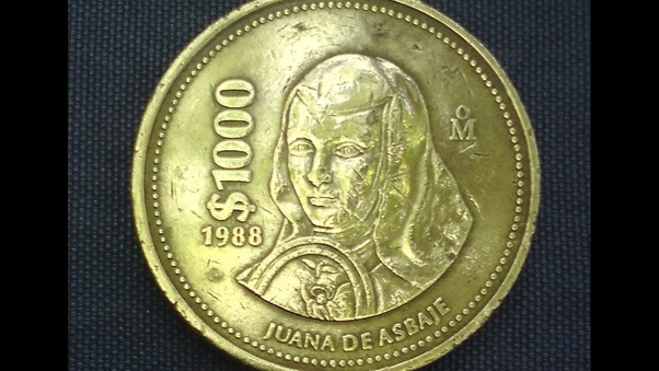 Gold 1989 1 000 Peso Worth In Mexico