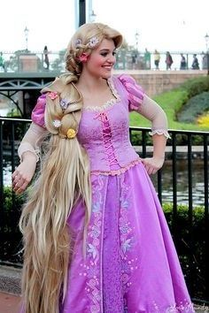 How To Elaborate A Plus Size Rapunzel Costume Quora