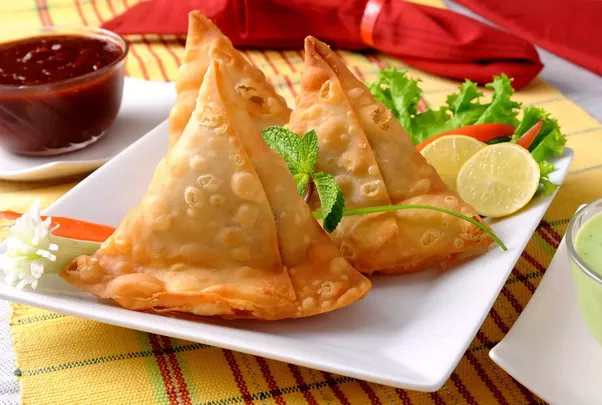 Although Even In UK People Called It Samosa But Some Of High End Restaurant Triangles Like Veg Triangle Beef So English You Can