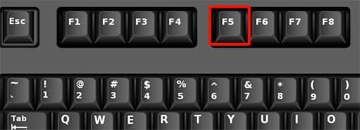 How To Set F5 Key For Refresh Mac