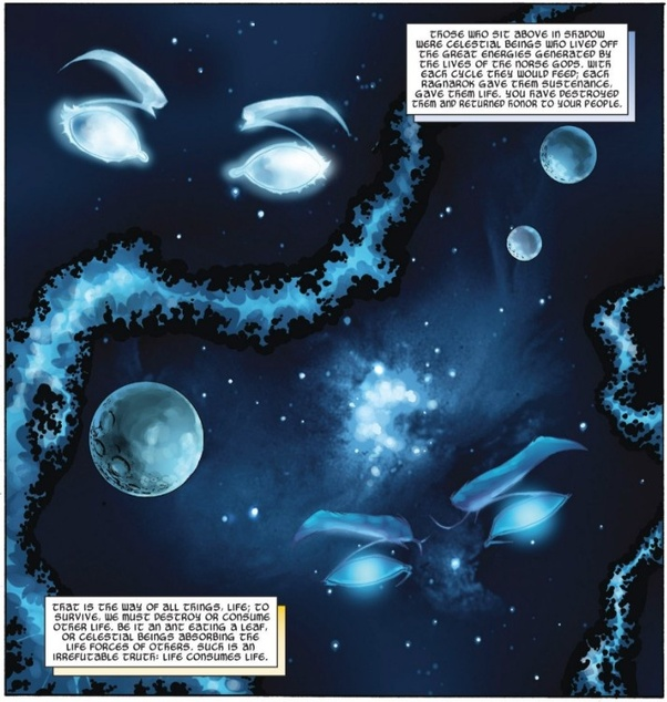 Who would win between Rune King Thor and a fully-powered Galactus