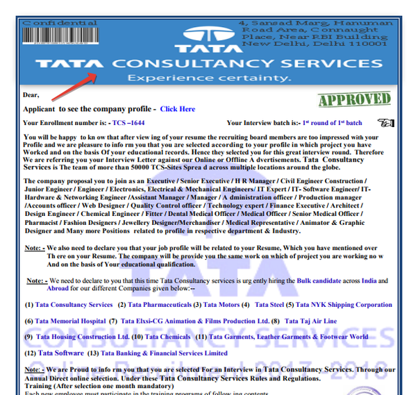 What is the TCS scam, and how does it work? - Quora