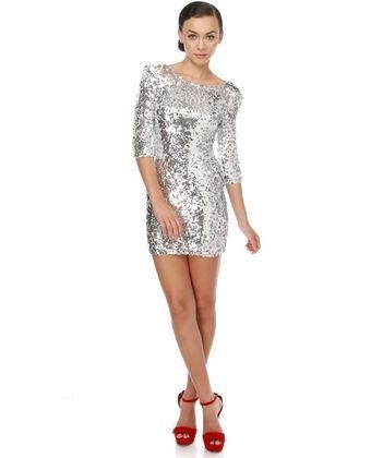 95373df2b10a If I wear a silver dress with red shoes
