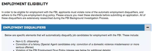 Is it possible for a foreign citizen to join CIA or FBI? - Quora