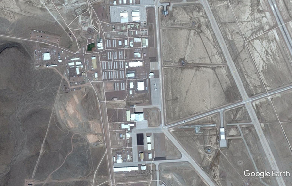 Can we see Area 51 from Google Earth? - Quora