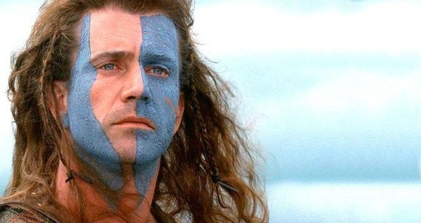 Is The Movie Braveheart Fairly Accurate In Respect To Costumes For That Period Of Time Did William Wallace And His Army Use Blue Face Paint Quora