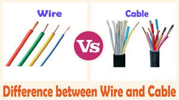 What is difference between wire and cable? - Quora