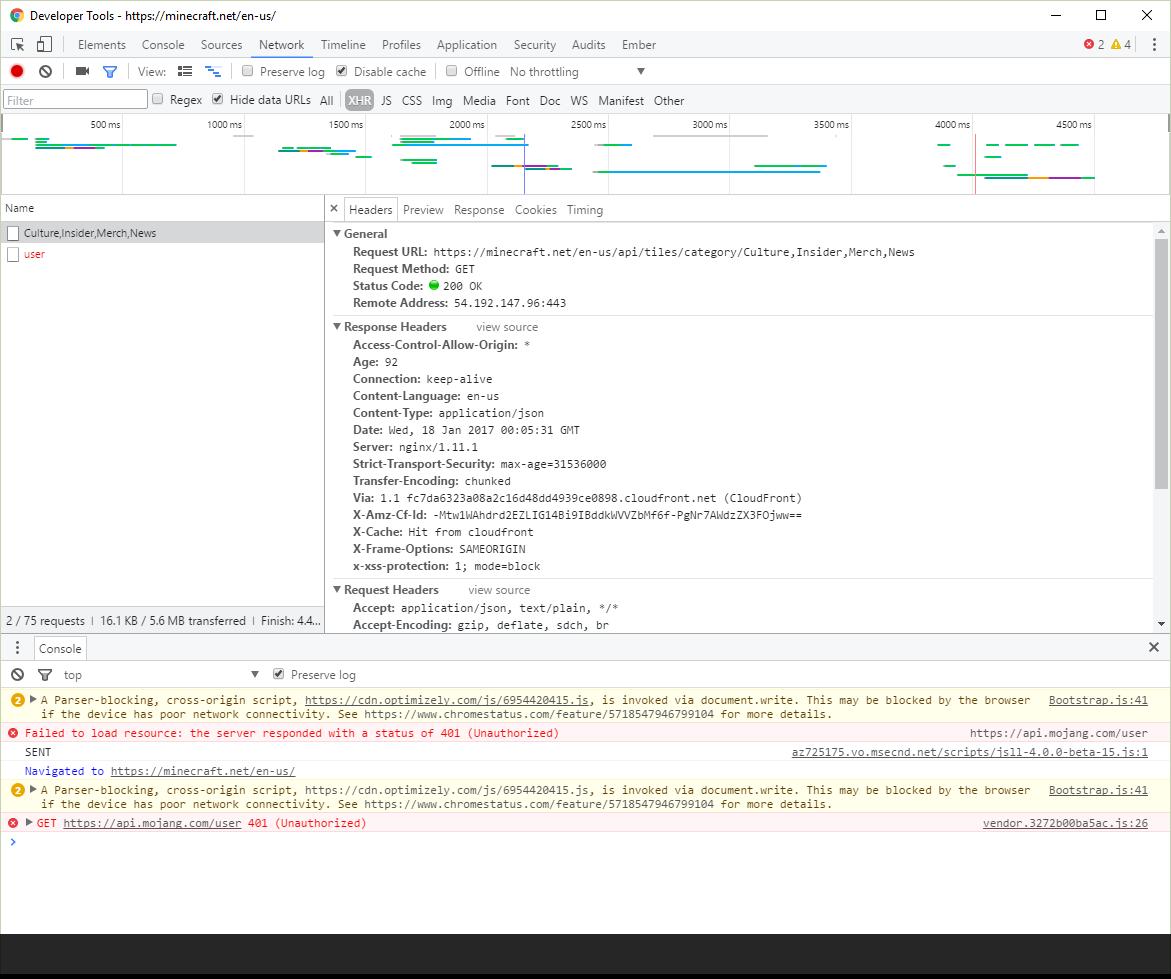 What website builder does 'https://minecraft net/en-us/' use