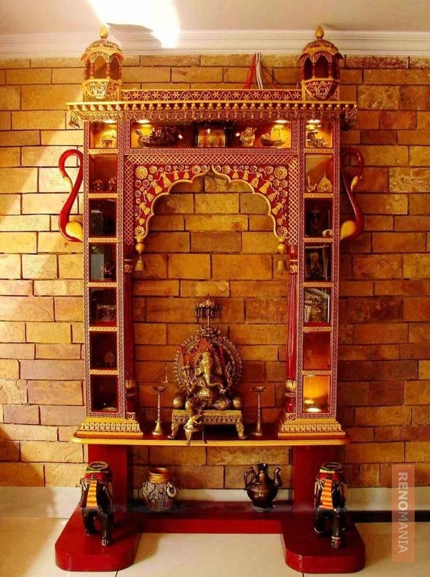 9 Traditional Pooja Room Door Designs In 2020: What Are Pooja Space Interior Ideas?