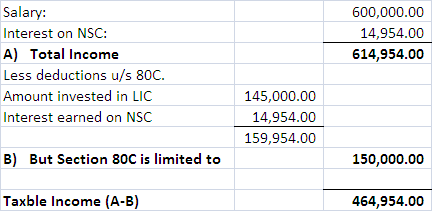 Nsc maturity amount taxable