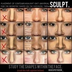 what are some contouring tips for big noses quora