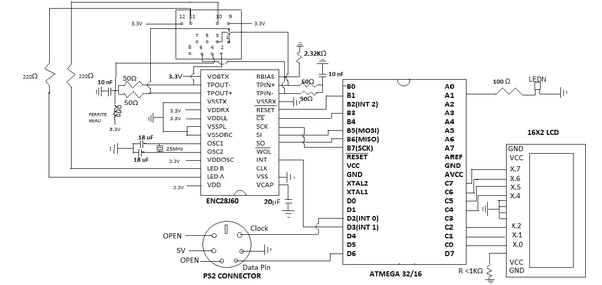 What is the best way to integrate an rj45mag jack ethernet here is the circuit diagram the part involving the ethernet controller ic is in the top left asfbconference2016 Image collections