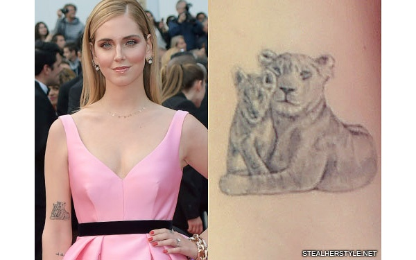 What Are All Of Chiara Ferragnis Tattoos And What Do They