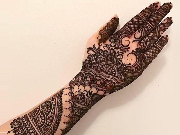 Mehndi Peacock Designs Drawings : What are a few mehndi designs quora