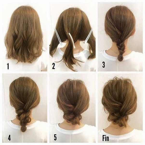 What Are Some Simple Hairstyles For Short Hair Quora