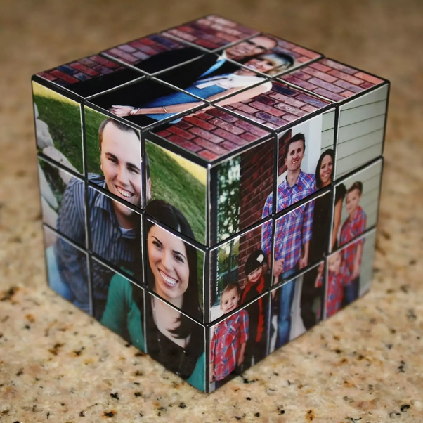 Buy A New Rubiks Cube And Make It Look Like This