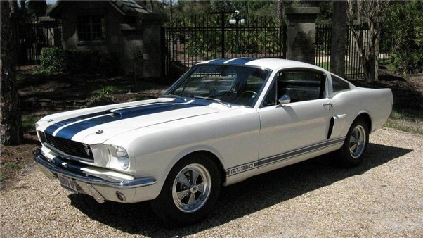 Back In 1966, Ford Shipped A White Mustang Fastback To Shelby American For  Them To Work Their Magic On The Car.