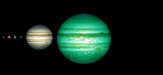 Star At About The Same Distance As Real Jupiter Have Been Identified By Scientists And Alien Solar System May More Planets Like Our Own