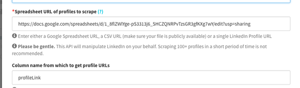 Is there any way to scrape data from a LinkedIn public