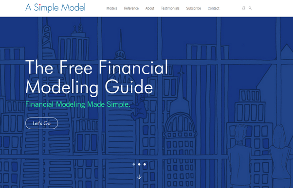 What Is The Best Website For Learning Financial Modeling On Excel