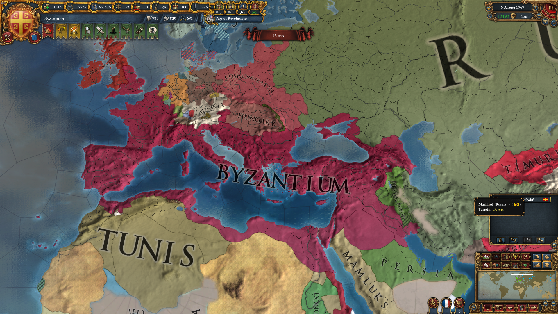 What is it like to play Byzantine Empire in EU4? - Quora