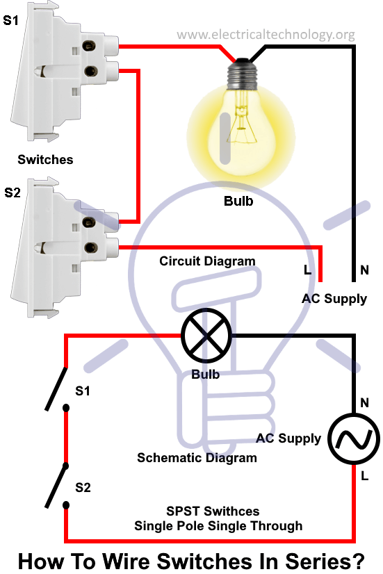 How To Use A 14  2 Wire To Wire A Light With 2 Switches
