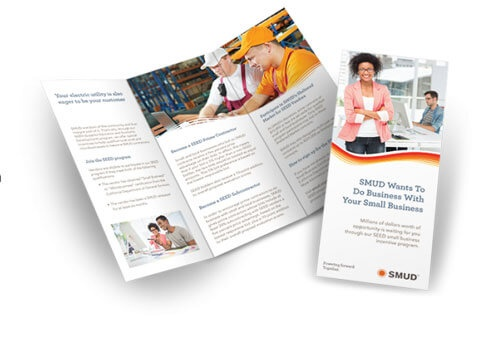 can anyone refer a good brochure designing company to me for