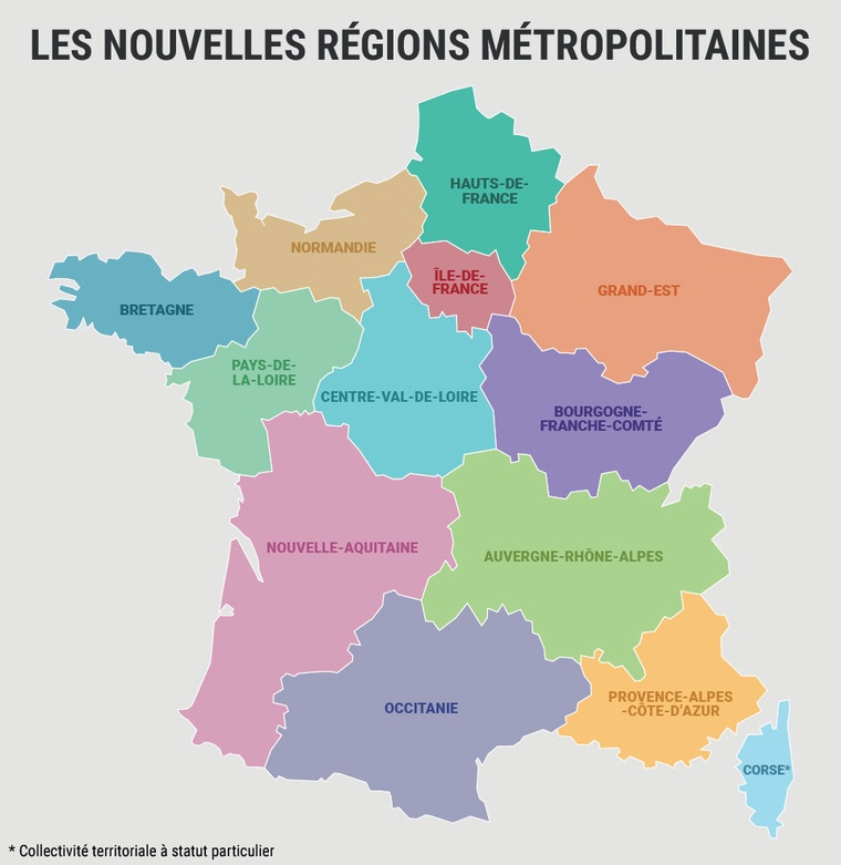 Map Of Provinces In France.Why Doesn T France Have Provinces Quora