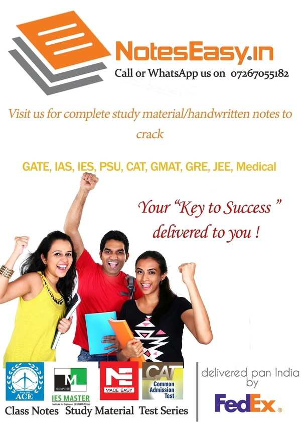 Free Made Easy Study Material For Gate Pdf