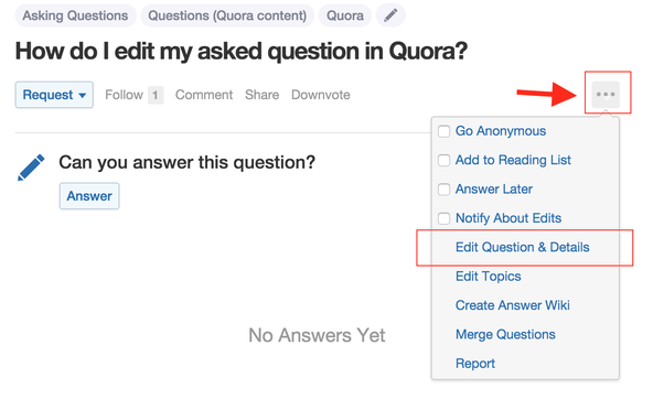 Image result for quora editing