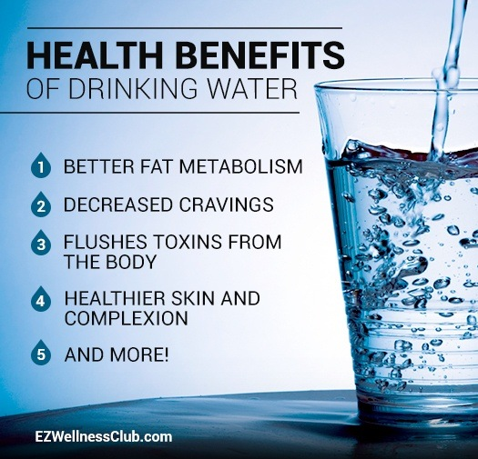 Drinking Lots Of Water Losing Weight