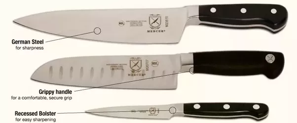 Cutco Handles Arenu0027t Particularly Ergonomic And Lack Some Safety Features  And Heft Of Better Knives. Iu0027d Prefer A Set Of Mercers, Which Are Better  Made, ...